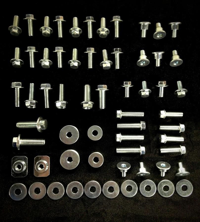 Seat Fenders 62pc Specbolt Yamaha BODY BOLT KIT YZ YZF WR Motorcycles for Plastics Fork Guards radiator shrouds bodywork YZ YZ-F /& WR YZ80 YZ85 YZ125 YZ250 YF250F YZ400F YZ426F YZ450F YZF250 YZF450