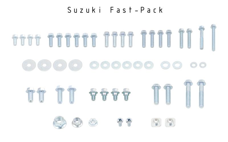 FASTMETRIC SUZUKI Bolt kit RMZ RM 60 65 80 85 100 125 250 450  FAST-PACK
